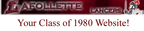 LA FOLLETTE CLASS OF 1980